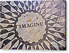 Imagine Acrylic Print by Stacey Granger