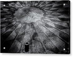 Imagine - Strawberry Fields Acrylic Print