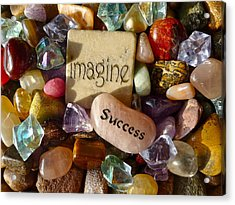 Imagine Success Acrylic Print