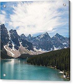 Moraine Lake Acrylic Print