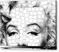 iMarilyn 009 Acrylic Print