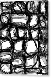 Imbroglio Acrylic Print by Guillermo De Llera