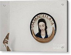 Immaculata Acrylic Print by Agnieszka Kubica