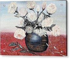 Immaculates Acrylic Print by Corina Blejan Lupascu