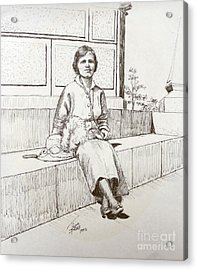 Immigrant 1920s Acrylic Print