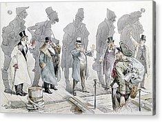 Immigration Cartoon, 1893 Acrylic Print