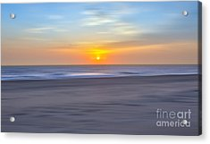 Imminent Light - A Tranquil Moments Landscape Acrylic Print by Dan Carmichael