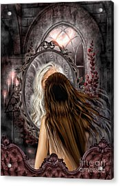 Immortality Acrylic Print by Mo T