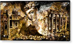 Immortality   Part Two... Acrylic Print by Anastasios Aretos