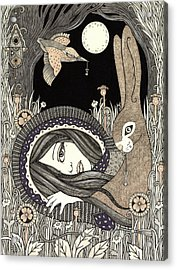 Imogen Acrylic Print by Anita Inverarity