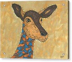 Impala Antelope Acrylic Print
