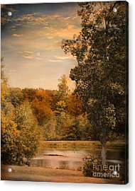 Impending Autumn Acrylic Print by Jai Johnson