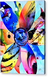 Acrylic Print featuring the digital art Imperfection by Christine Ricker Brandt