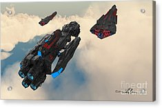 Imperial Fleet Launch Acrylic Print