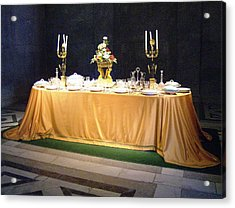 Acrylic Print featuring the photograph Imperial Lunch  by Giuseppe Epifani