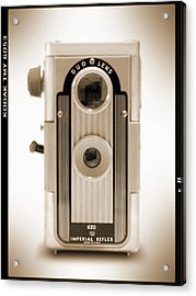 Imperial Reflex Camera Acrylic Print by Mike McGlothlen