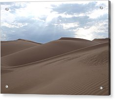 Imperial Sand Dunes Southern California Acrylic Print