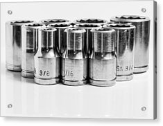 Imperial Socket Set. Acrylic Print by Gary Gillette