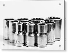 Imperial Sockets. Acrylic Print by Gary Gillette