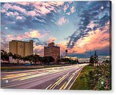 Imperial Sugar Factory At Rush Hour Acrylic Print