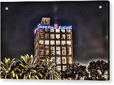 Imperial Sugar Mill Acrylic Print