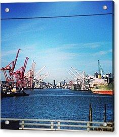 Imperial Walker Harbor Acrylic Print