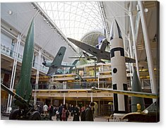 Imperial War Museum Acrylic Print by Mark Williamson