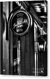 Imported Irish Ale Acrylic Print by Mel Steinhauer