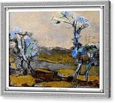 Acrylic Print featuring the painting Impression by Pemaro
