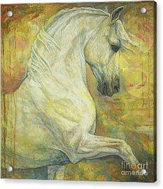 Impression Acrylic Print by Silvana Gabudean