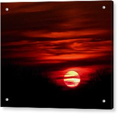 Impression Sunset Acrylic Print