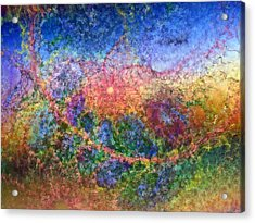 Acrylic Print featuring the digital art Impressionist Dreams 1 by Casey Kotas
