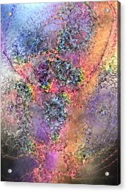 Acrylic Print featuring the digital art Impressionist Dreams 2 by Casey Kotas
