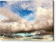 Impressionist Landscape Paintings Acrylic Print by Boon Mee
