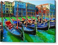 Impressionistic Photo Paint Gs 009 Acrylic Print