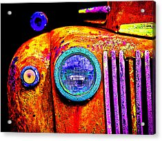 impressionistic photo paint GS 019 Acrylic Print