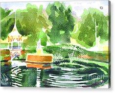 Impressions II Acrylic Print by Kip DeVore
