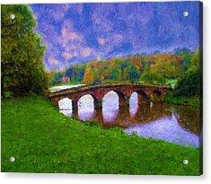 Impressions Of Stourhead Acrylic Print