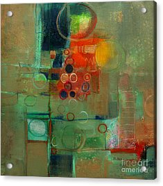 Improvisation Acrylic Print by Michelle Abrams