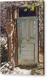 Improvised Outhouse Acrylic Print