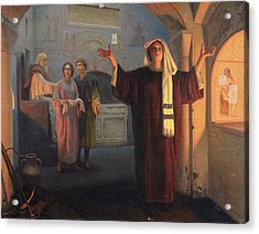 In A Catacomb, 1900 Oil On Canvas Acrylic Print