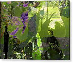 Acrylic Print featuring the digital art In A Dream by Cathy Anderson