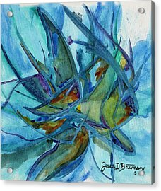 In A Fishbowl Acrylic Print
