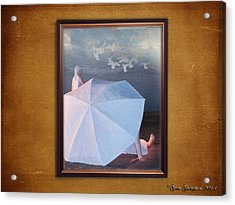In A Scene In A Dream That's So Far Away Acrylic Print by Gate Gustafson