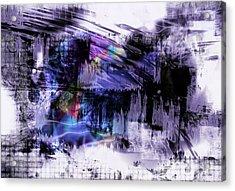 In A Violet Rhythm Acrylic Print