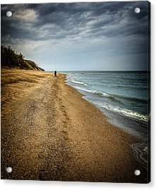 In All Things You Do Consider The End Acrylic Print by Jeff Burton