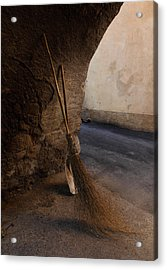 In An Ancient Village Acrylic Print by Susan Rovira