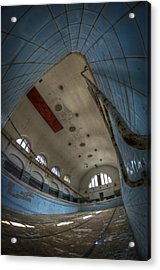 In At The Deep End Acrylic Print by Nathan Wright