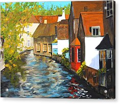 In Bruges Acrylic Print