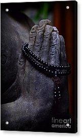 In Buddha's Hand Acrylic Print by Paul Ward